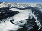 Bering Glacier (Aerial), Wrangell-St. Elias National Park, Alaska Photographic Print by Frans Lanting