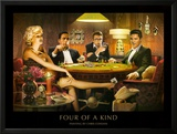 Four of a Kind Prints by Chris Consani