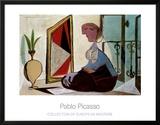 Femme au Miroir, 1937 Prints by Pablo Picasso