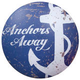 Anchors Away Cartel de chapa