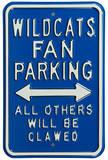 Wildcats Clawed Kentucky Parking Steel Sign Wall Sign