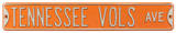 Tennessee Vols Ave Steel Sign Wall Sign