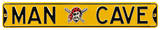 Man Cave Pittsburgh Pirates Steel Sign Wall Sign