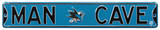 Man Cave San Jose Sharks Steel Sign Wall Sign