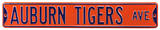 Auburn Tigers Ave Steel Sign Wall Sign