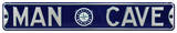 Man Cave Seattle Mariners Steel Sign Wall Sign