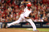 Cincinnati, OH - October 09: San Francisco Giants v Cincinnati Reds - Aroldis Chapman Photographic Print by Andy Lyons