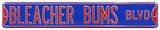 Bleacher Bums Cubs Steel Sign Wall Sign
