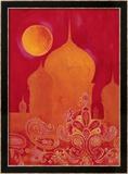 Paisley Taj Framed Giclee Print by Hope Smith