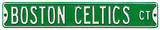 Boston Celtics Ct Steel Sign Wall Sign
