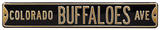 Colorado Buffaloes Ave Steel Sign Wall Sign