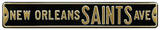 New Orleans Saints Ave Steel Sign Wall Sign