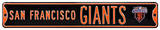 San Francisco Giants WS 2010 Steel Sign Wall Sign