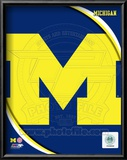 University of Michigan Wolverines Team Logo Framed Photographic Print