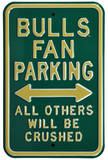 USF Bulls Crushed Parking Steel Sign Wall Sign