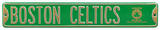 Boston Celtics 2008 Champions Steel Sign Wall Sign