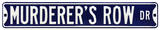 Murderer's Row Yankees Steel Sign Wall Sign