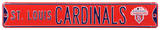 St Louis Cardinals WS 2011 Steel Sign Wall Sign
