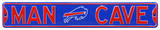 Man Cave Buffalo Bills Steel Sign Wall Sign
