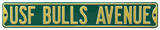 USF Bulls Avenue Steel Sign Wall Sign