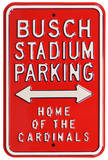 Busch Stadium Home Cardinals Parking Steel Sign Wall Sign