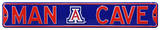 Man Cave Arizona Wildcats Steel Sign Wall Sign