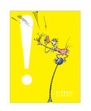 Exclamation Point (yellow) Prints by Theodor (Dr. Seuss) Geisel