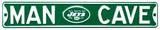 Man Cave New York Jets Steel Sign Wall Sign