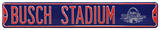 Busch Stadium Navy All Star 2009 Steel Sign Wall Sign