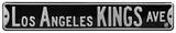 Los Angeles Kings Ave Steel Sign Wall Sign