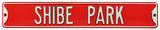 Shibe Park Phillies Steel Sign Wall Sign