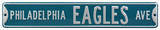 Philadelphia Eagles Ave Steel Sign Wall Sign