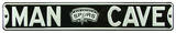 Man Cave San Antonio Spurs Steel Sign Wall Sign