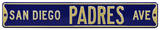 San Diego Padres Ave Steel Sign Wall Sign