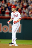 Washington, DC - October 1: Washington Nationals v Philadelphia Phillies - Bryce Harper Photographic Print by Greg Fiume