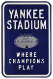 Yankee Stadium Parking All Star 2008 Steel Sign Wall Sign