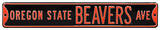 Oregon State Beavers Ave Steel Sign Wall Sign