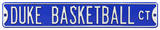 Duke Basketball Ct Steel Sign Wall Sign
