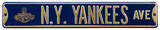 NY Yankees Ave WS 2009 Steel Sign Wall Sign