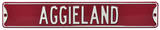 Aggieland Texas A&M Steel Sign Wall Sign