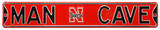 Man Cave Nebraska Huskers Steel Sign Wall Sign