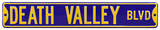 Death Valley Blvd LSU Steel Sign Wall Sign