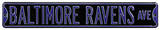Baltimore Ravens Ave Steel Sign Wall Sign