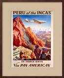 Pan American Peru of the Incas Poster Prints