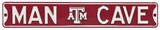 Man Cave Texas A&M Steel Sign Wall Sign