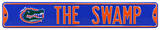 The Swamp Gator Logo Steel Sign Wall Sign
