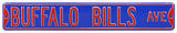 Buffalo Bills Ave Steel Sign Wall Sign