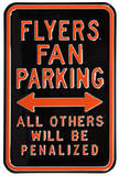 Flyers Penalized Parking Steel Sign Wall Sign