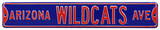 Arizona Wildcats Ave Steel Sign Wall Sign