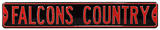 Falcons Coutry Steel Sign Wall Sign
